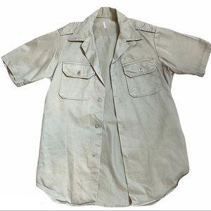 🌈BUNDLE SALE Military Short Sleeve Shirt